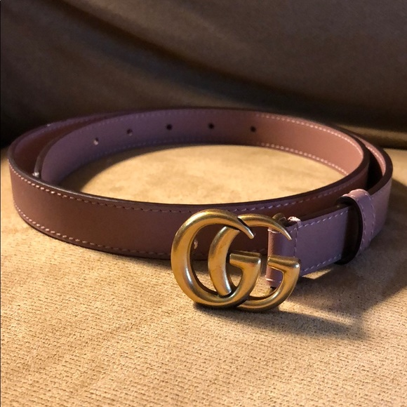 9673c773b46 Gucci Accessories - GUCCI AUTHENTIC SKINNY BELT